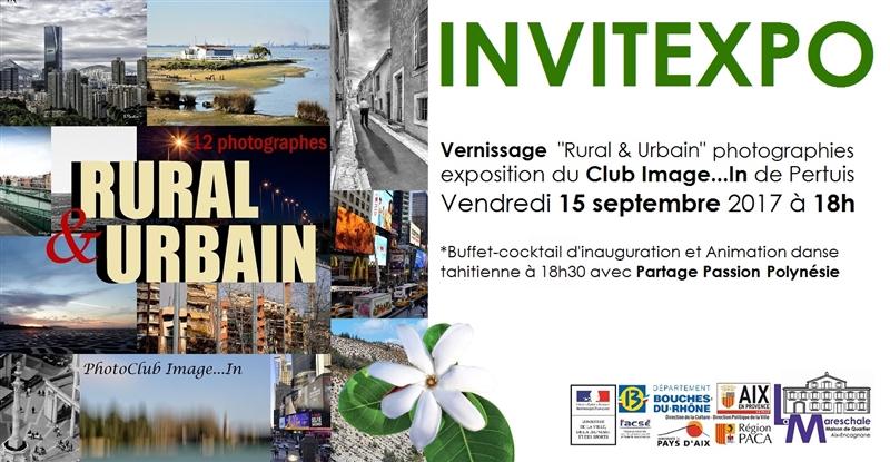 INVITEXPO RURAL & URBAIN photographies Vendredi 15 septembre 2017 à 18h