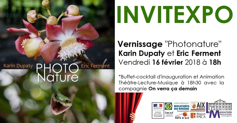 INVITEXPO PHOTONATURE Vendredi 16 février 2018 à 18h
