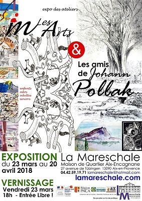 EXPOSITION DES ATELIERS ARTS VISUELS du 23 mars au 20 avril 2018