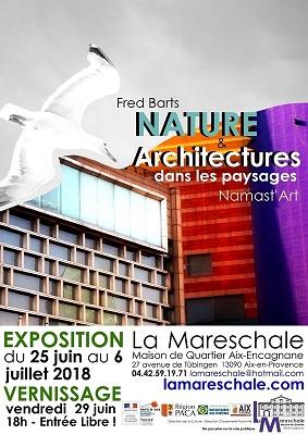 EXPOSITION Namast_Art & Fred Barts Architectures dans les Paysages du 25 juin au 6 juillet 2018